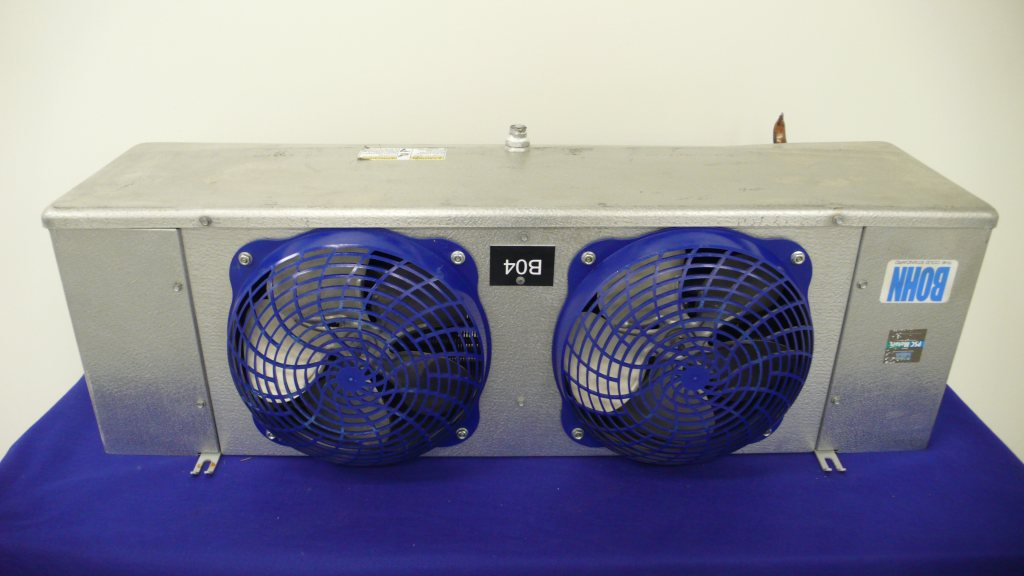 Bohn walk in cooler evaporator coil blower 13 000 btu ebay for Walk in cooler motor