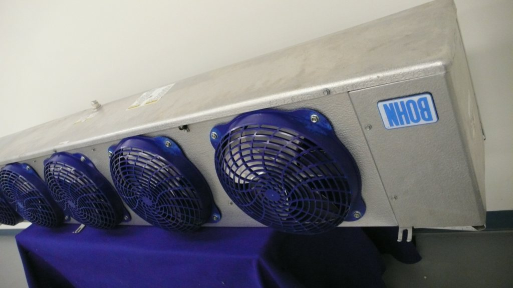 Bohn walk in freezer evaporator coil blower 17 000 btu ebay for Walk in cooler motor