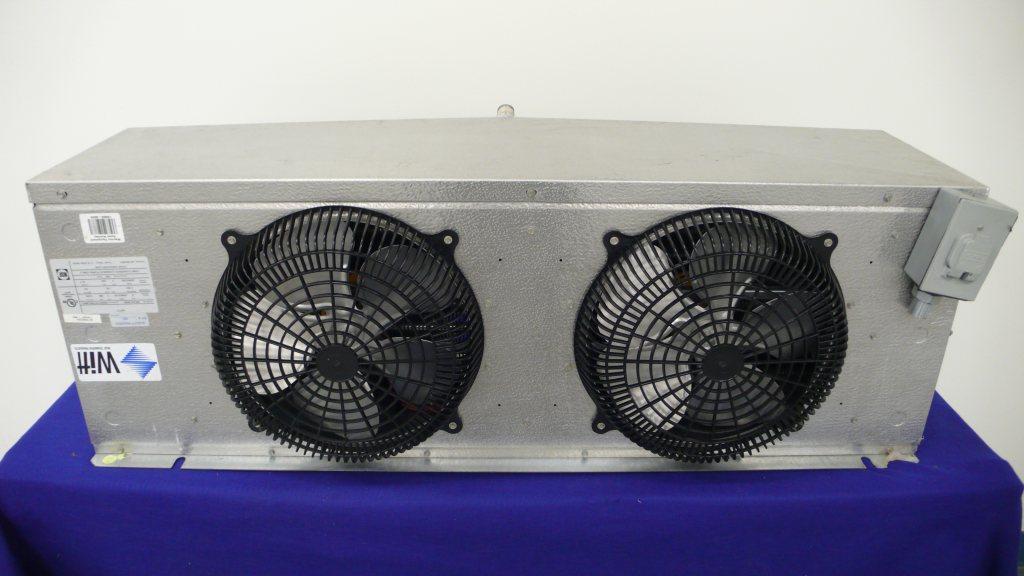 Witt walk in freezer evaporator coil blower 8 500 btu for Walk in cooler fan motor